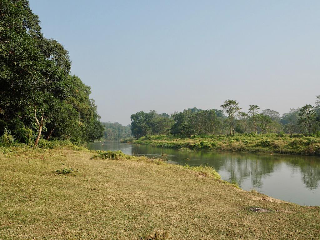 Landschaft Chitwan Nationalpark