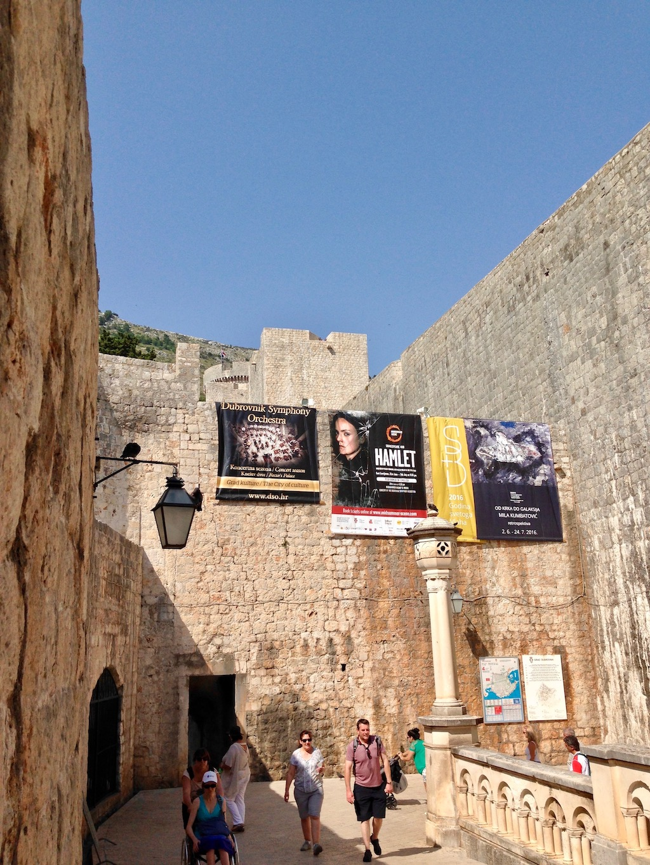 Dubrovnik: Hinterm Pile Tor