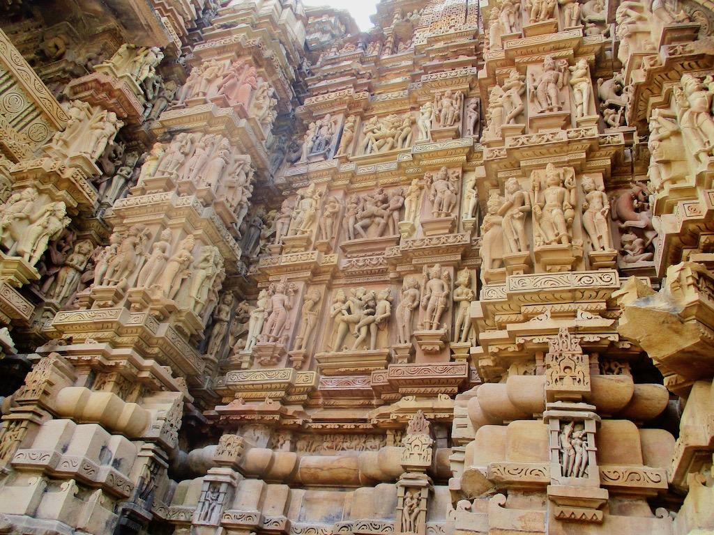 Indien Sehenswürdigkeiten: Khajurahos Tempel sind faszinierend