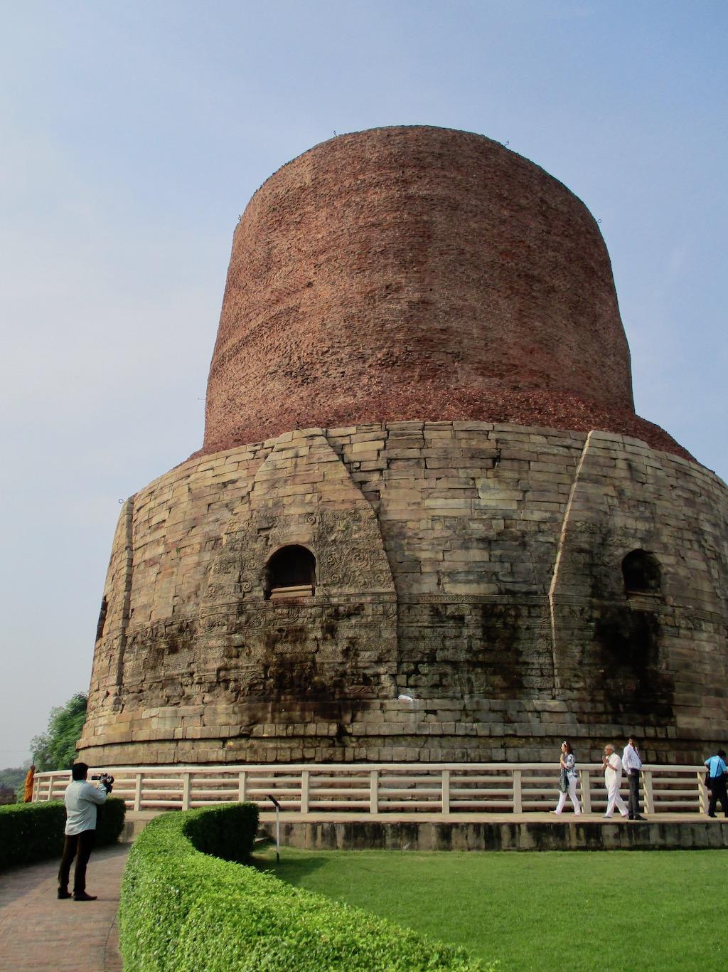 Indien Sehenswürdigkeiten: Der Stupa von Sarnath