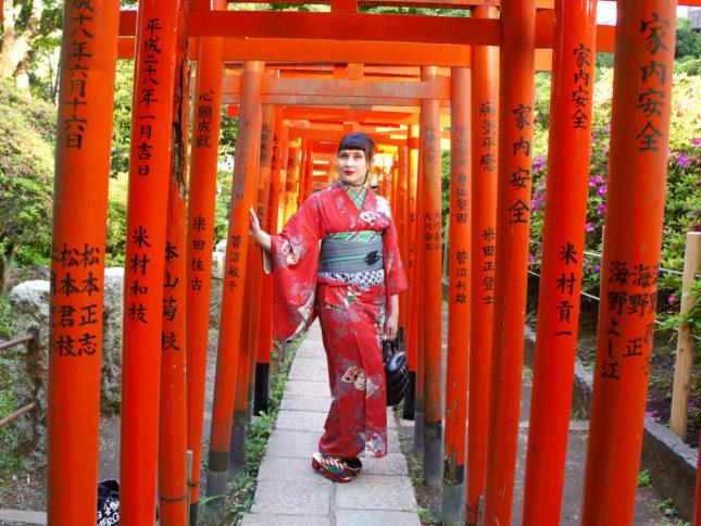 Leben in Japan: Anji in ihrer Wahlheimat Tokio