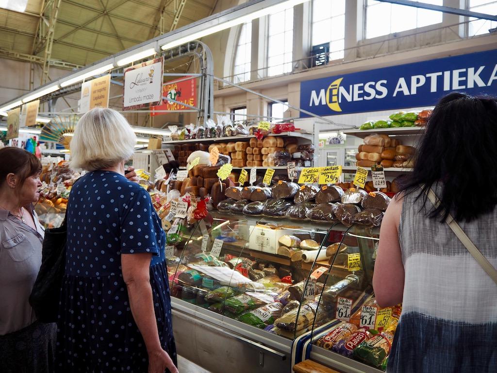 Riga Sehenswürdigkeiten: Der Zentralmarkt gehört dazu