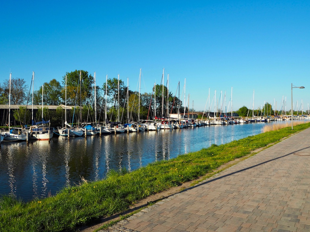 Boote in Greifswald