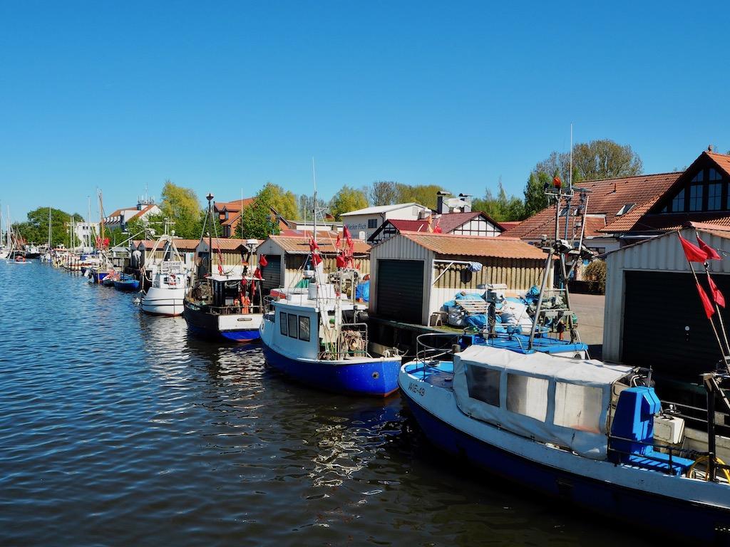Hafen in Wieck