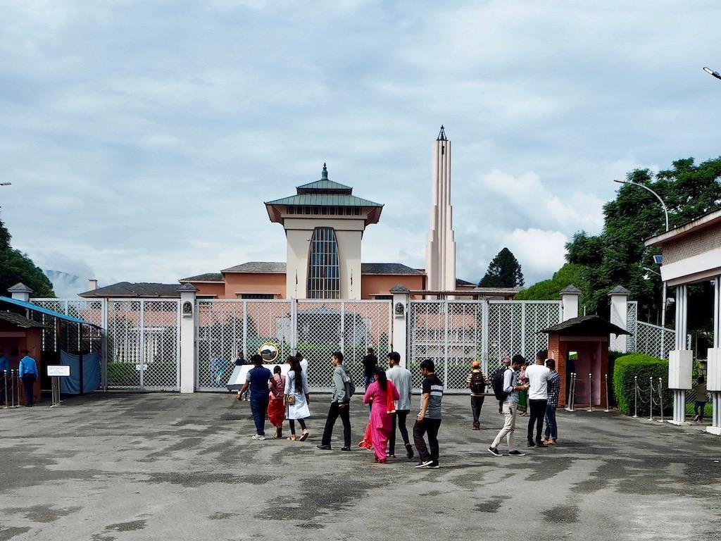 Narayanhiti Palace: Der ehemalige Palast ist abgezäunt