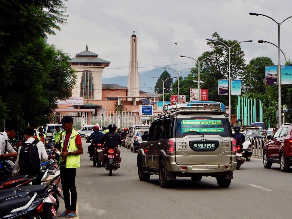 Der König von Nepal lebte im Narayanhiti Palace