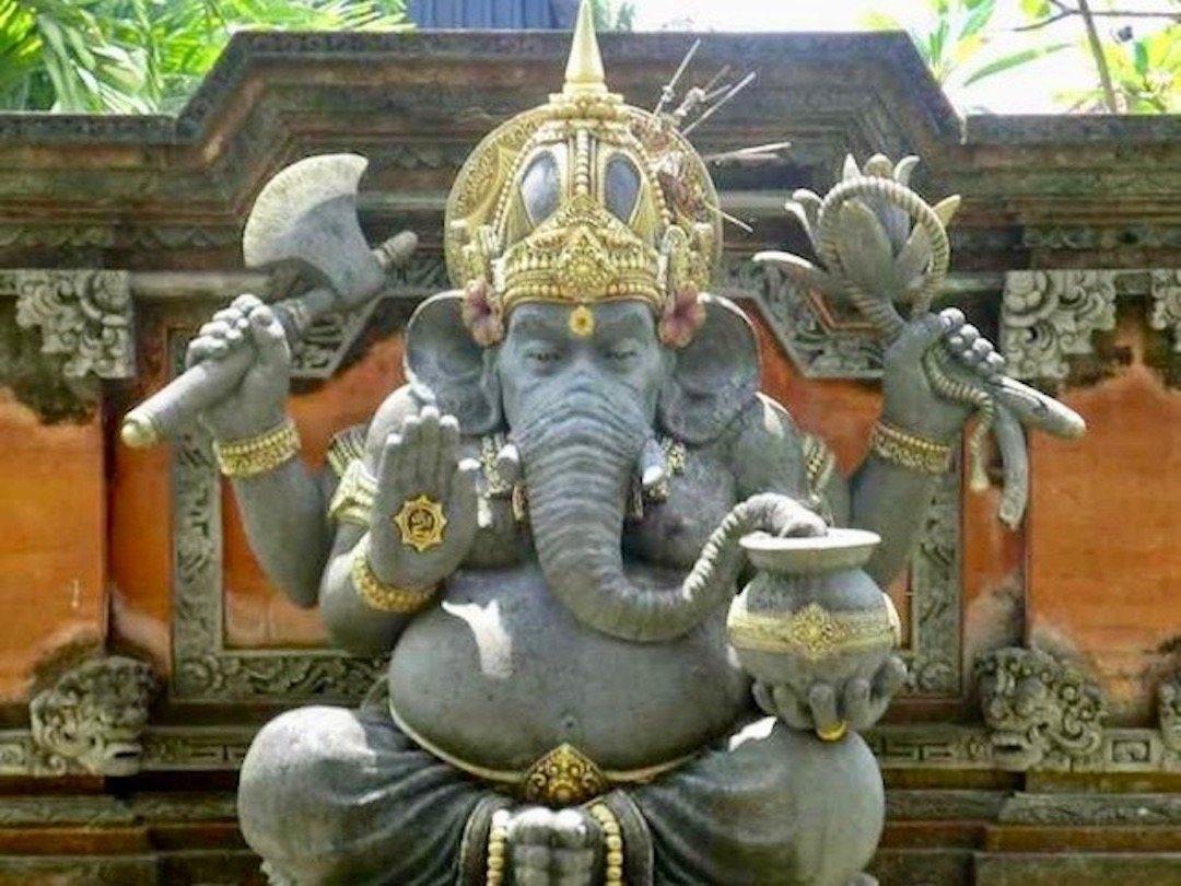 Eat Pray Love auf Bali: Ganesha
