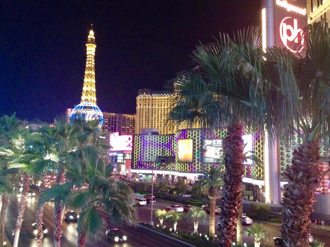 In Las Vegas begann und endete der Roadtrip im Südwesten der USA
