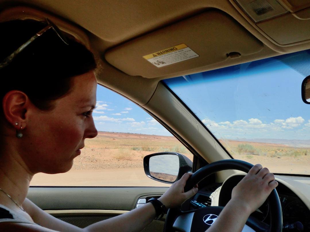On the road im Südwesten der USA