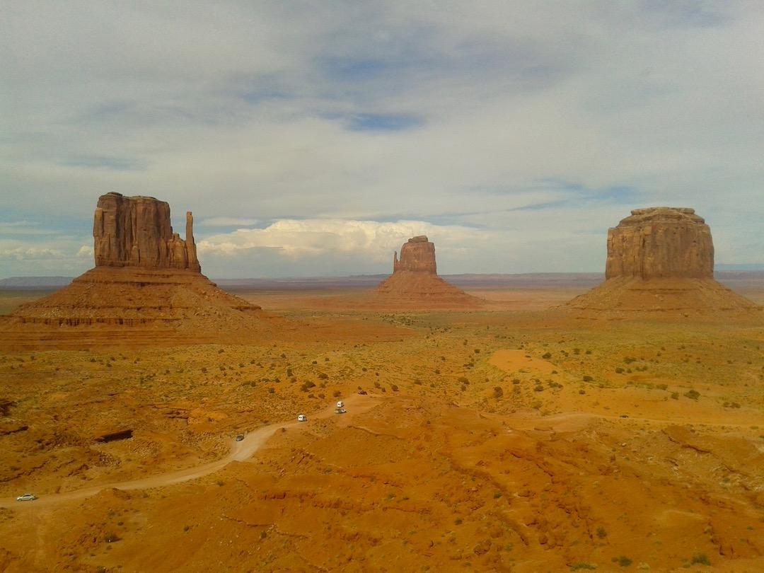 Sehenswürdigkeit im Südwesten der USA: Monument Valley