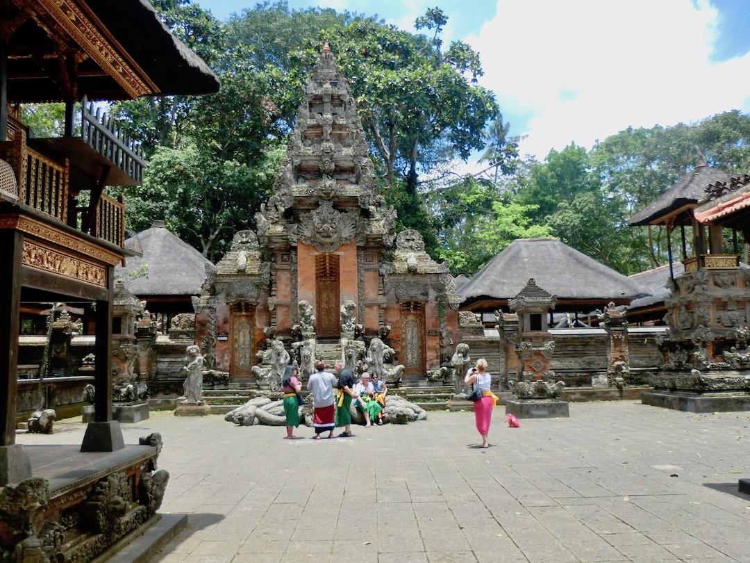 Ubud Bali: Tempel im Monkey Forest