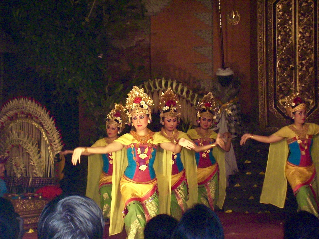 Tradioneller Kecak-Tanz in Ubud