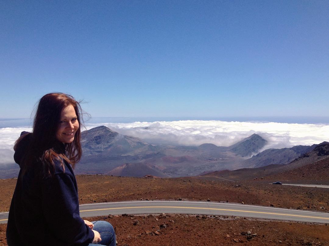 Haleakala Gipfel Maui
