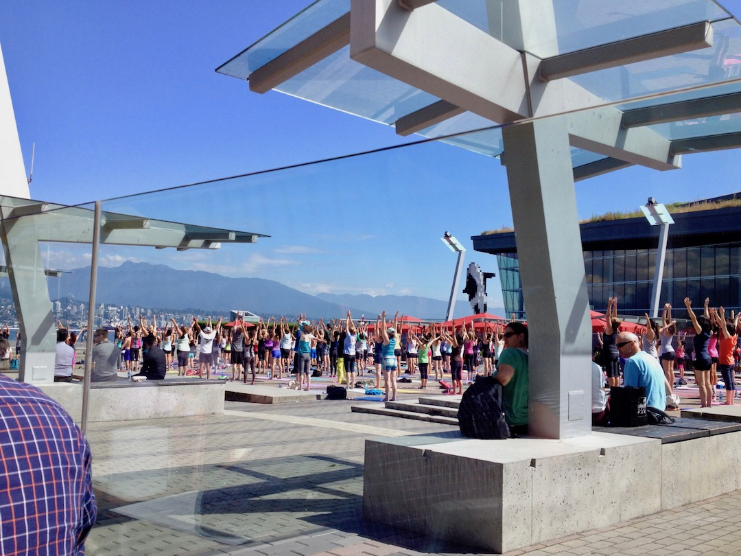 Work and Travel Kanada: Yoga in Vancouver