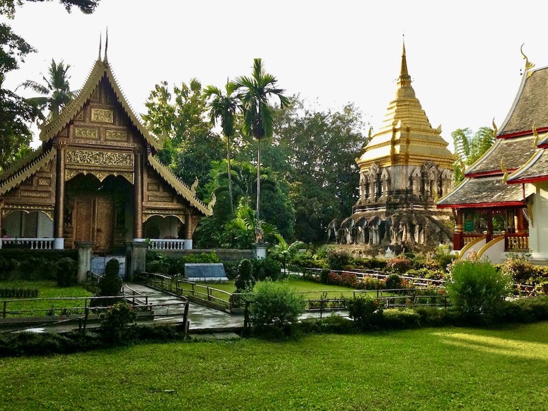 Tempel in Chiang Mai in Thailand