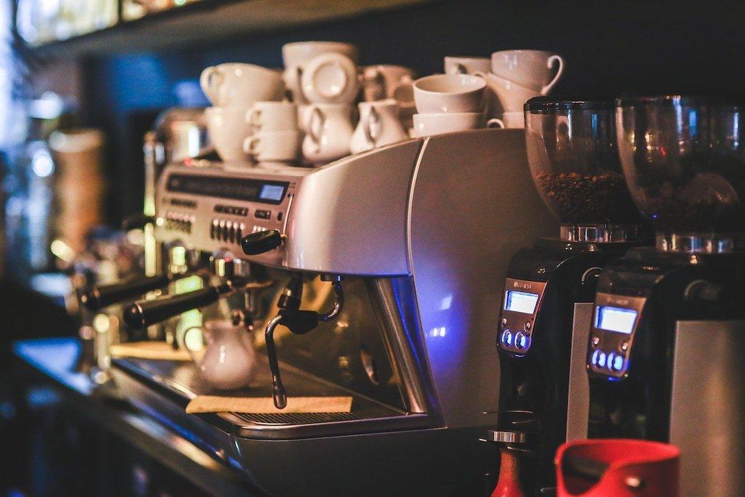 Espressomaschine in Italien