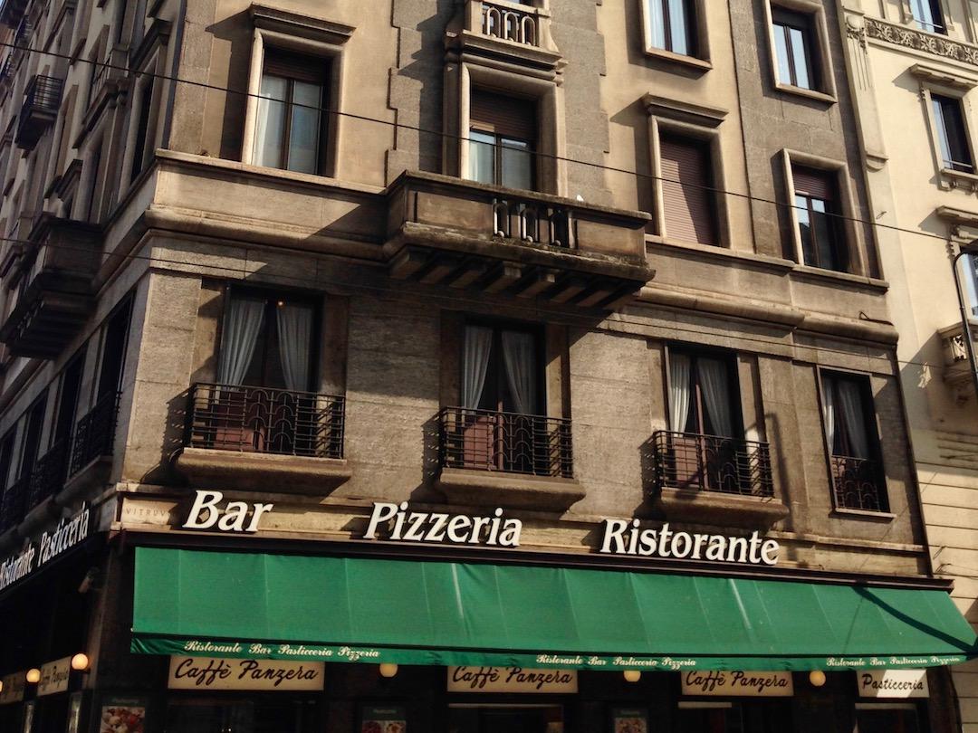 Bar in Mailand Italien