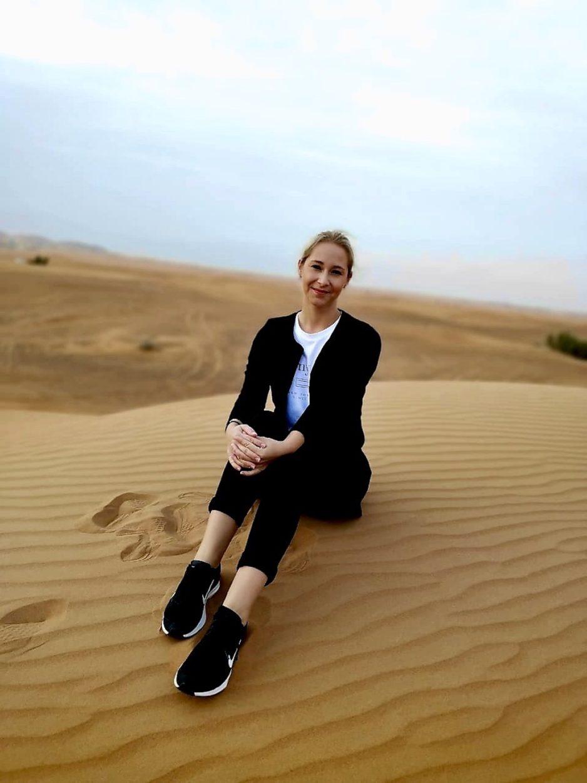 Wüste in den Vereinigten Arabischen Emiraten