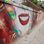 Streetart in Kathmandu für Frauenrechte