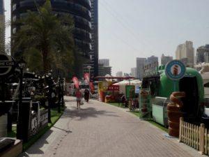 Dubai Marina Street Food Stalls