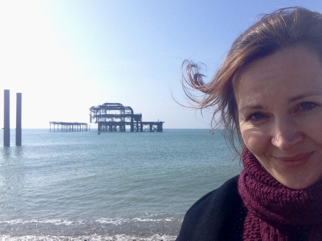West Pier in Brighton, England