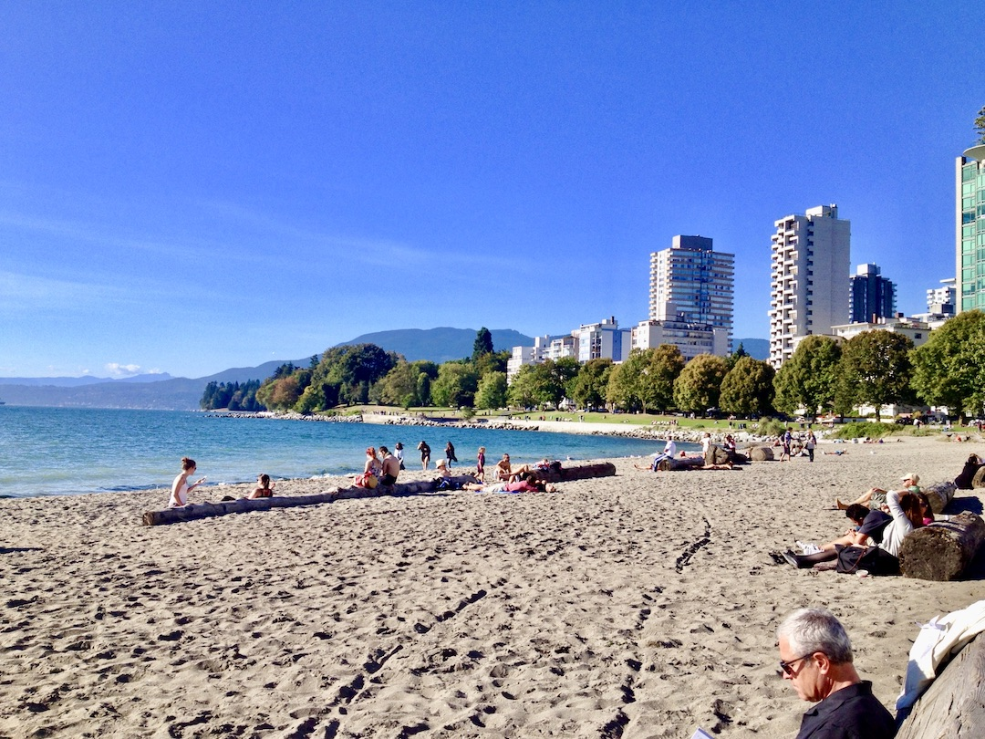 Strand im West End Vancouver Kanada