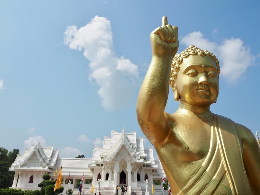 Lumbini, Nepal: Wo Buddha geboren wurde, gibt's viel zu tun