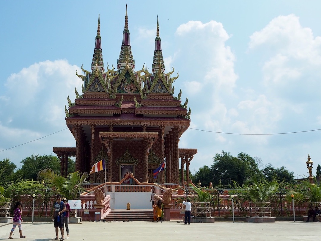 Tempel von Kambodscha im Peace Park