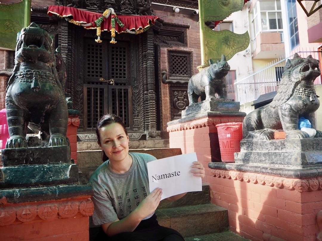 Namaste - Begrüßung in Nepal