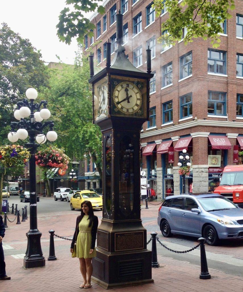 Vancouver Sehensürdigkeiten: Steam Clock in Gastown