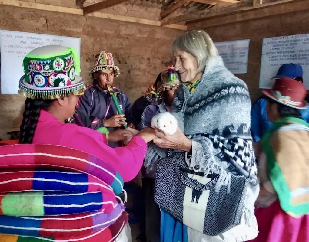 Für den Marie-Schlei-Verein auf dem Altiplano